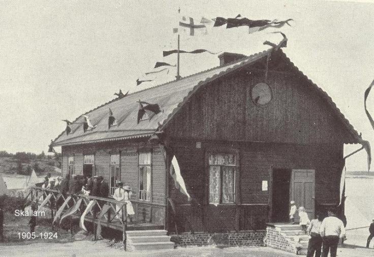 Skällarn 1905 Klubbhuset