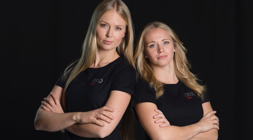 Mikaela Wulf ja Noora Ruskola